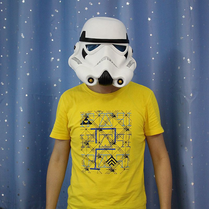 Halloween la Force réveille casque masque Cosplay thème fête masque dark vador casque Star Wars 7 masque impérial Stormtrooper