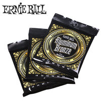 Ernie Ball Aluminum Bronze Acoustic Guitar Strings 1 Set Of String 2564 2566 2568 2570