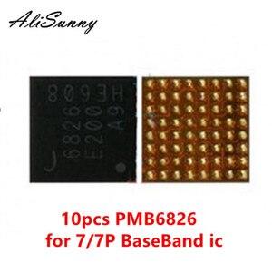 Image 1 - AliSunny 10pcs PMB6826 6826 עבור iPhone 7 7 בתוספת BaseBand כוח PMIC ic שבב Intel BBPMU_RF החלפת חלקים