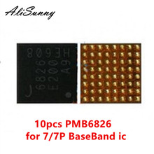 AliSunny 10pcs PMB6826 6826 voor iPhone 7 7Plus BaseBand PMIC Power ic Chip Intel BBPMU_RF Vervangende Onderdelen