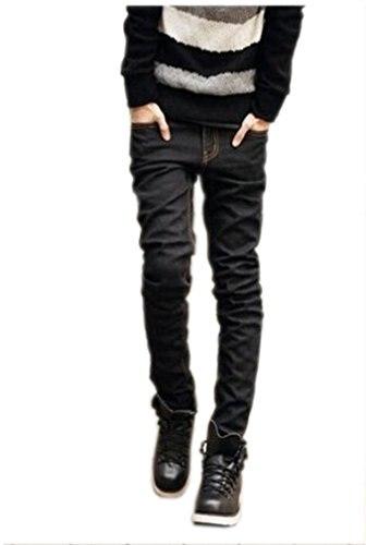 ФОТО Abetteric Men Abetteric British style Rivet stone wash Skinny Jeans
