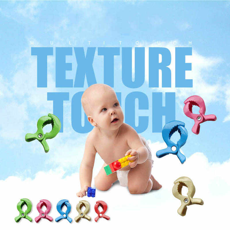Carrinho De bebê Clipe Acessórios Lâmpada Brinquedo Carrinho De Bebê Carrinho De Criança Assento de Carro Do Bebê Tampa Cobertor Clipes Peg Para Gancho Brinquedo Acessório Gancho clipe