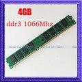 NOVO 4 GB DDR3 1066 MHZ PC3-8500 DDR3-1066 240PIN DIMM 240-pin DIMM de Memória de Desktop 4g ddr3 1066 RAM desktop memória frete grátis