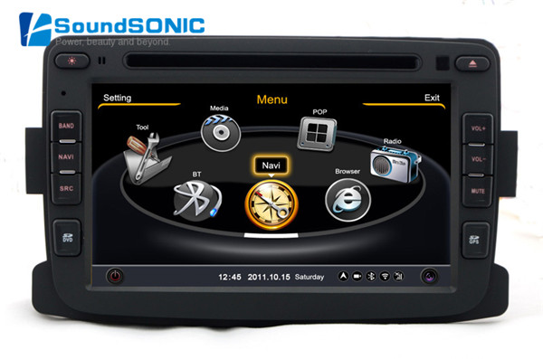for renault dokker dacia duster logan sandero car dvd gps stereo radio video player media center. Black Bedroom Furniture Sets. Home Design Ideas