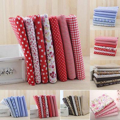 Fashion patchwork fabric sets diy craft sewing handmade for Fashion designer craft sets
