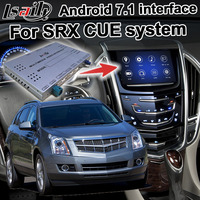 Android GPS navigation box for Cadillac SRX etc video interface mylink CUE intellilink system with wireless Carplay