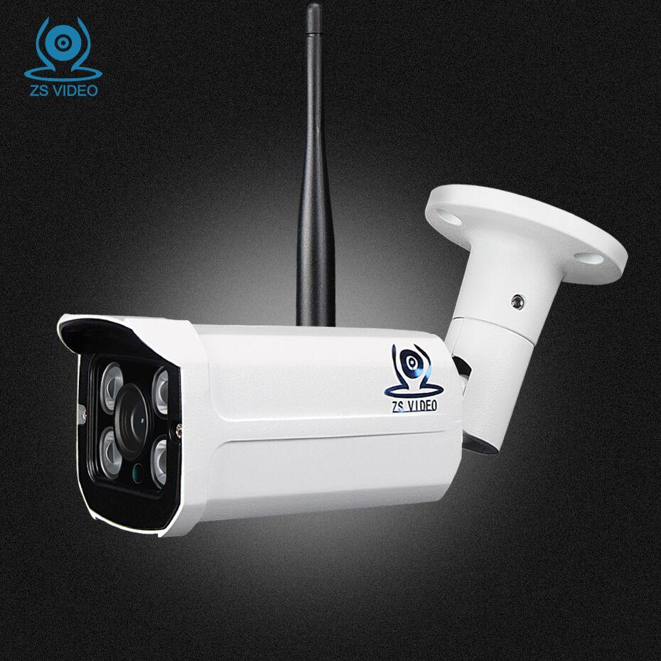 ZSVEDIO CCTV Infrared IP Camera HD View NVR Wi Fi Camera IP Camera Outdoor Alarm System