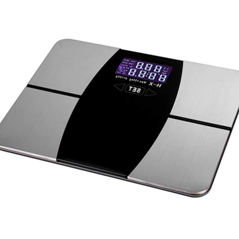 1pcs Intelligent Electronic Scale Smart Fat Scale Digital Measuring Body Fat Scale Meter Electronic Body Household Smart Health 800g electronic balance measuring scale with different units counting balance and weight balance