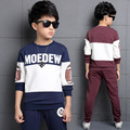 Ensemble Garcon Marque Teenagers Spost Suit For Boys 3 4 5 6 7 8 9 10 11 12 13 14 Years Spring Baby Boy Clothing Set 2pcs