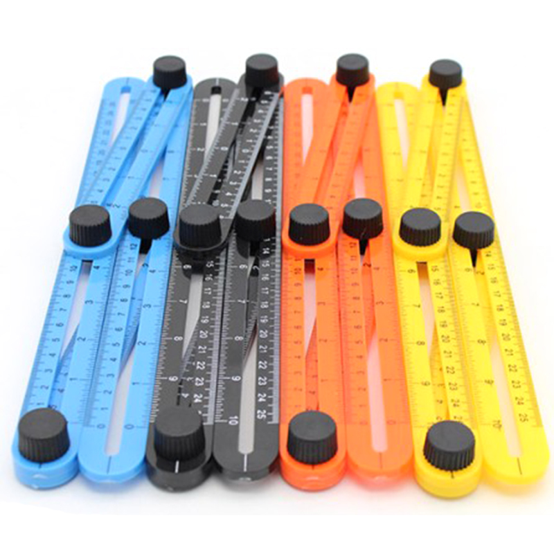Multi Angle Ruler Template Tool Measures All Angles Forms for Measurement Outdoor Tools Flexible Easy Tool