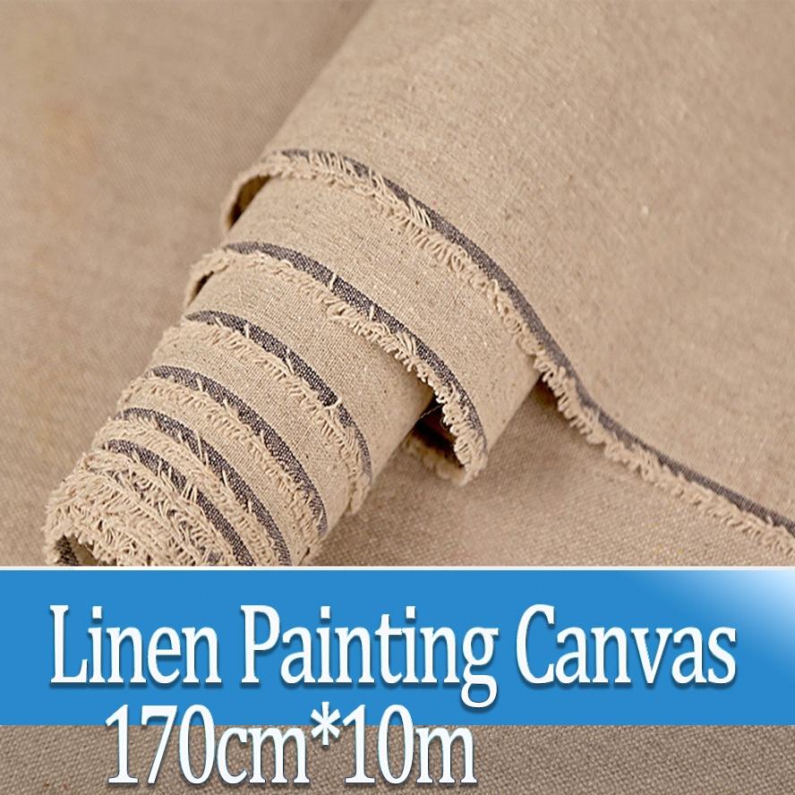 170cm*10m Lines Painting Canvas Oil Painting Landscape Painting Paint-coat Paper Artist Blank Canvas Art Painting Supplies