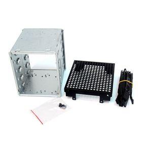Image 4 - Yeni büyük kapasiteli paslanmaz çelik HDD sabit Disk kafes raf SAS SATA sabit Disk tepsi Caddy bilgisayar aksesuarları için qiang