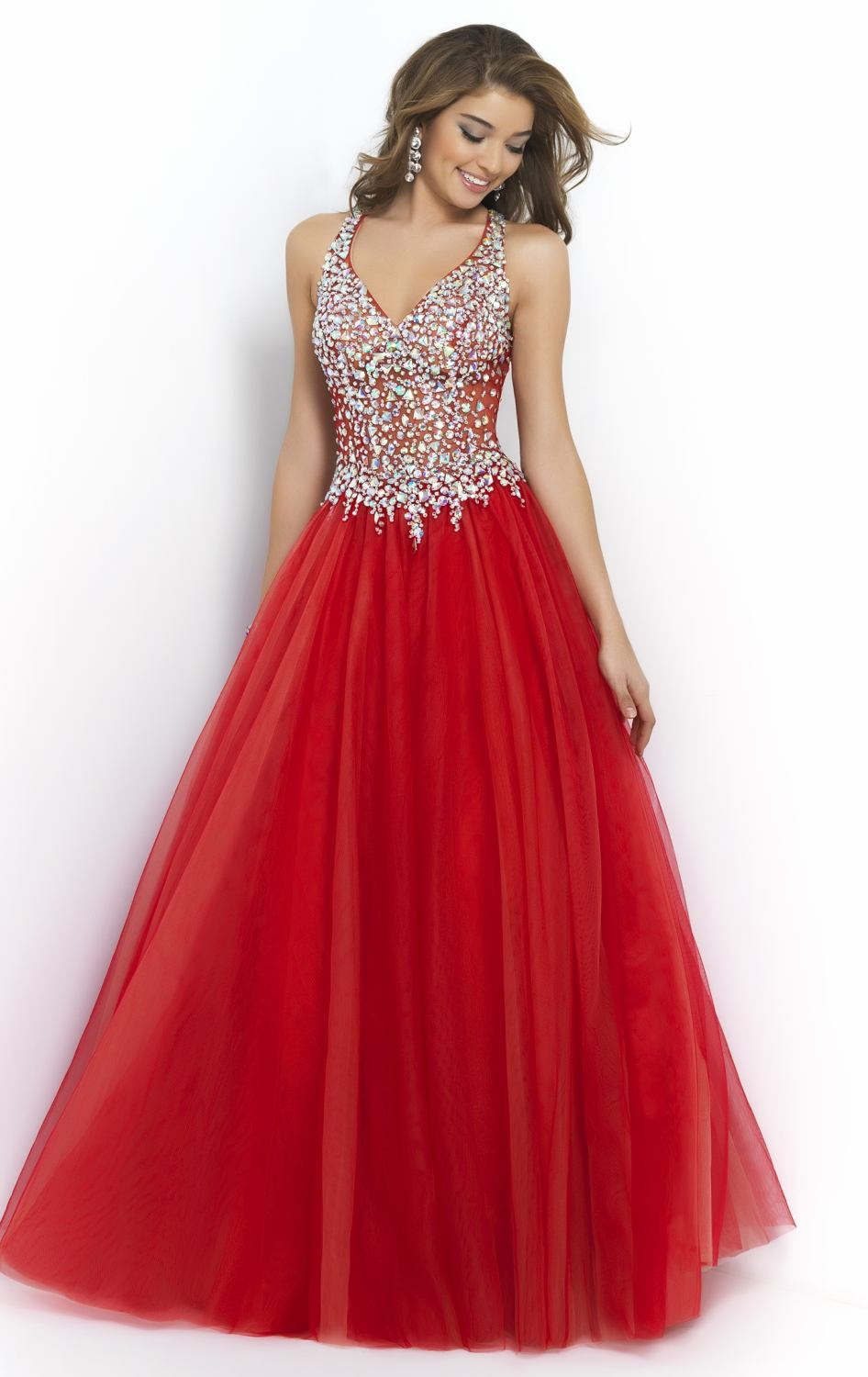 Inexpensive strapless prom dresses
