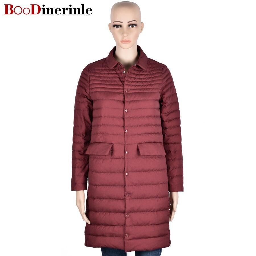 Aliexpress.com : Buy Ultra Light Down Jacket Women Long