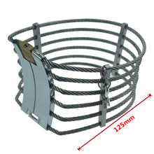 Neck Slave Collar Stainless Steel with lock