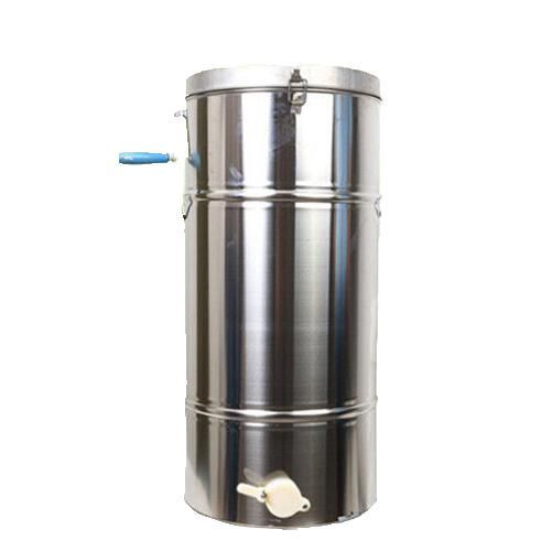 High Quality Fast Shipping New Stainless steel Honey Extractor honey-shaking machine with filter 6 frames reversible honey extractor for bee keeping