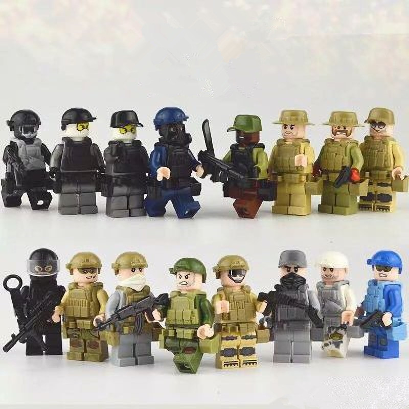 Kids, Mini, Gift, Figures, Toys, Different