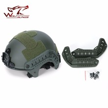 Flashlight-Adapter Airsoft Hunting-Camera Tactical Helmet-Accessories IBH Side-Rail