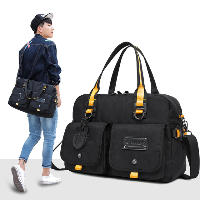 Men Travel Bag messenger Casual Male Tote Handbag Luggage Bag Business Single Shoulder Duffle Bags Bolsos free shipping