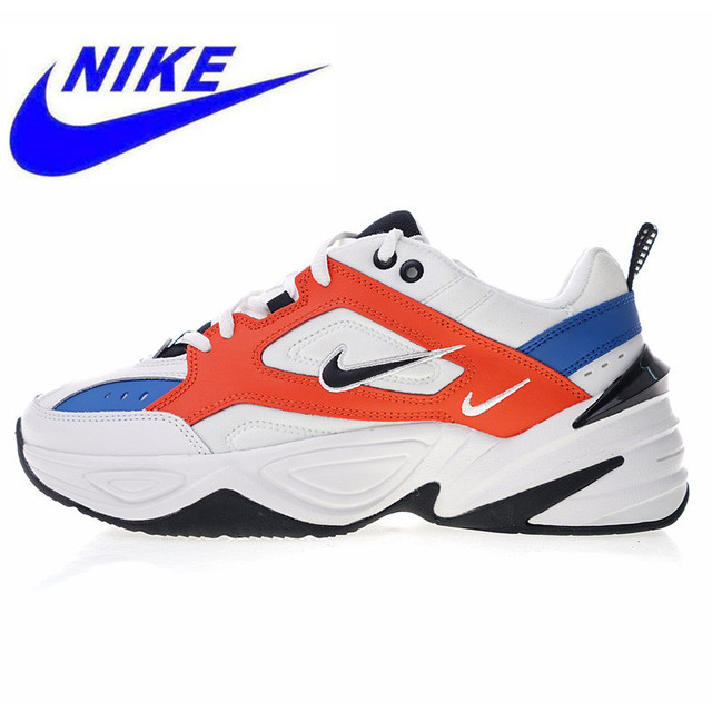 New High Quality Nike M2K Tekno Men and Women Models Running Shoes Outdoor Sports Shoes Breathable Shock Absorption Lightweight