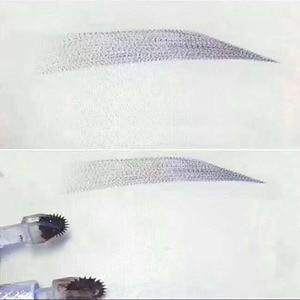 Image 4 - Microblading Naalden Fog Wenkbrauw Permanente Make Up 3D Borduren Voor Tattoo Handmatige Pen Tattoo Inkt Wegwerp Veilig Gezonde Gereedschap