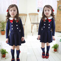 Spring and Autumn baby girl dress girls clothes school dress for girls princess casual long sleeve dress for girls kids clothes