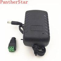 1 шт 24 W ЕС США драйвер plug адаптер AC110V 220 V для DC 12 V 2A 5,5*2,1 мм светодиодный Питание + 1 шт разъем для Светодиодные ленты