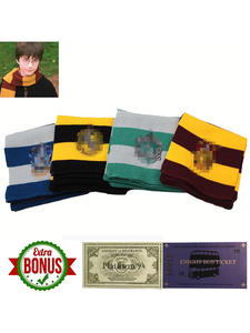 Harri Movie Series Scarves  Cosplay Costumes Christmas Halloween Children Gift