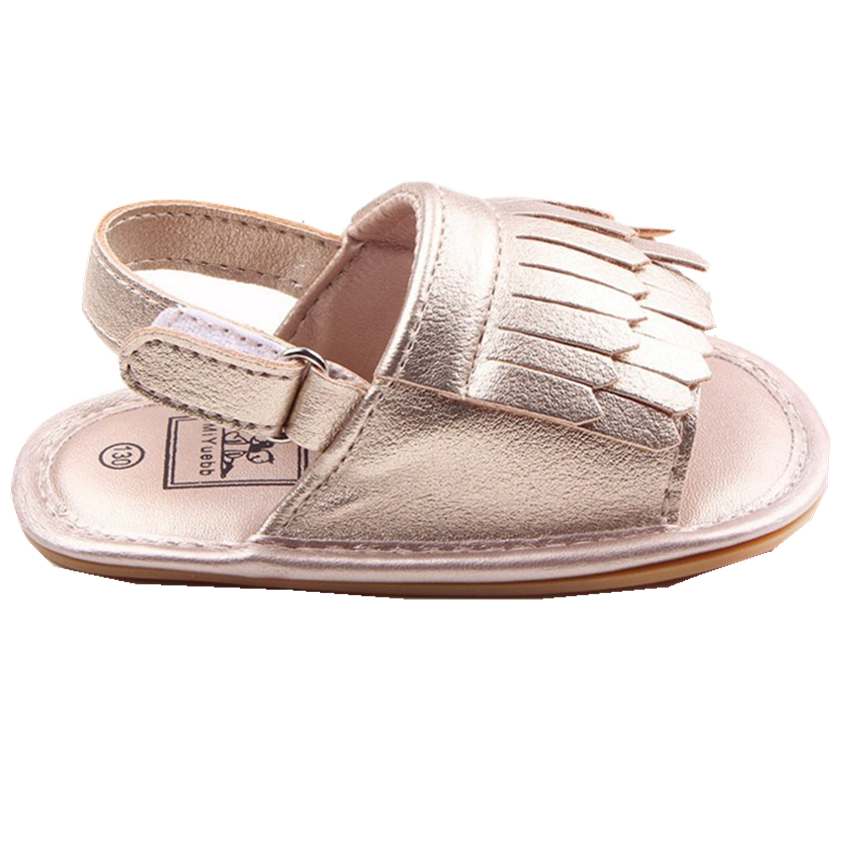 Tassels PU Leather Baby Shoes Girl Soft Summer Infant Tollder Baby Moccasins New Born Baby First Walkers 2016 Casual Prewalker