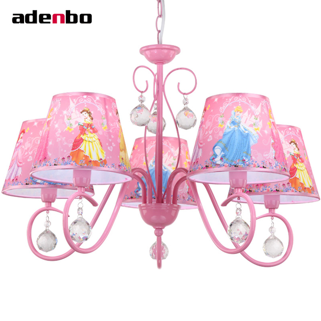Moderne Led kristall kronleuchter Leuchte Prinzessin Kinder ...