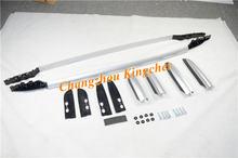 Высокое качество Серебряный багаж багажник на крышу бар крест
