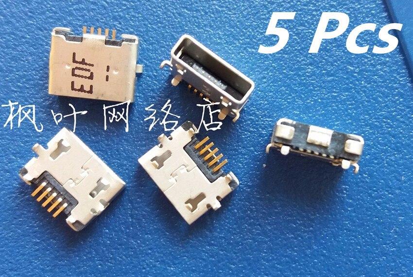 5 шт. Новый Планшеты зарядка через USB Порты и разъёмы DC Jack Зарядное устройство Разъем Порты и разъёмы Разъем для <font><b>Dell</b></font> Venue 8 Pro t01d 32 ГБ