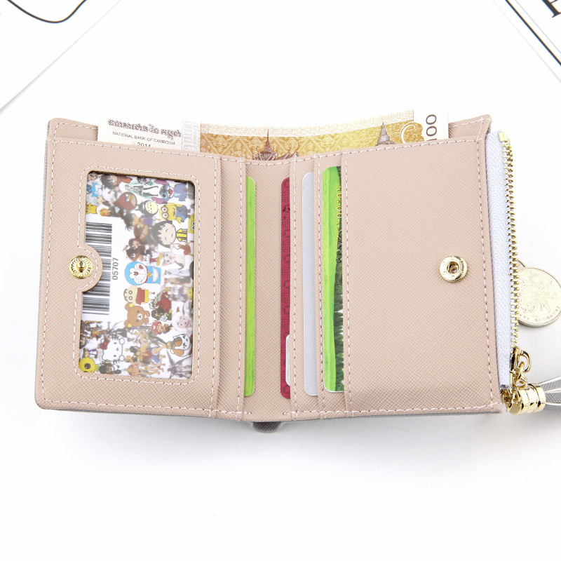 Wallet Female For Coins Cute Wallet Women Small Leather Women Wallets Zipper Purses Portefeuille Wallet Female Purse Clutch #5