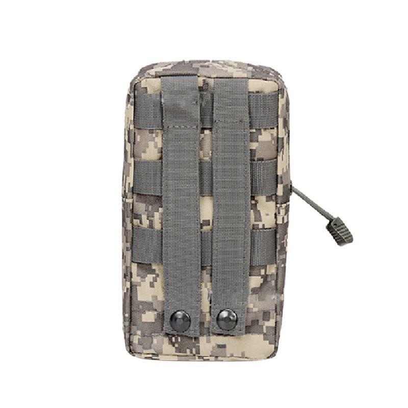 Ыстық сөмке Airsoft Sports Military Utility Tactical Vest Bel Pouch сөмке Сыртқы аң аулау васита пакеті жабдықтары үшін