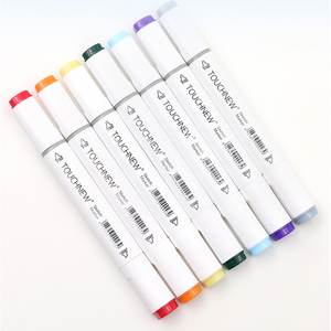 Image 5 - TOUCHNEW Alcohol Markers 30/40/60/80/168 Colors Dual Head Sketch Markers Brush Pen Set For Drawing Manga Design Art Markers