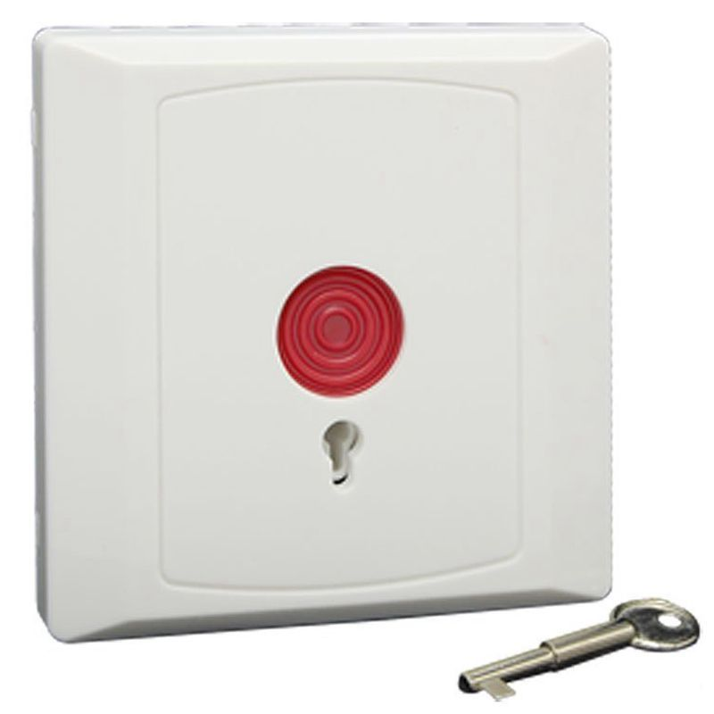 3PCS Wired SOS Emergency Panic Button Home Alarm Security Product For Older Usage