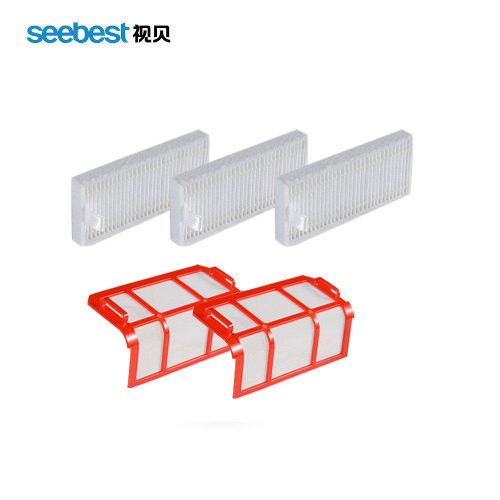 Seebest D730/D720 Robot Vacuum Cleaner Spare Parts Filter for replacement seebest d750 d730 d720 robot vacuum cleaner spare parts filter for replacement