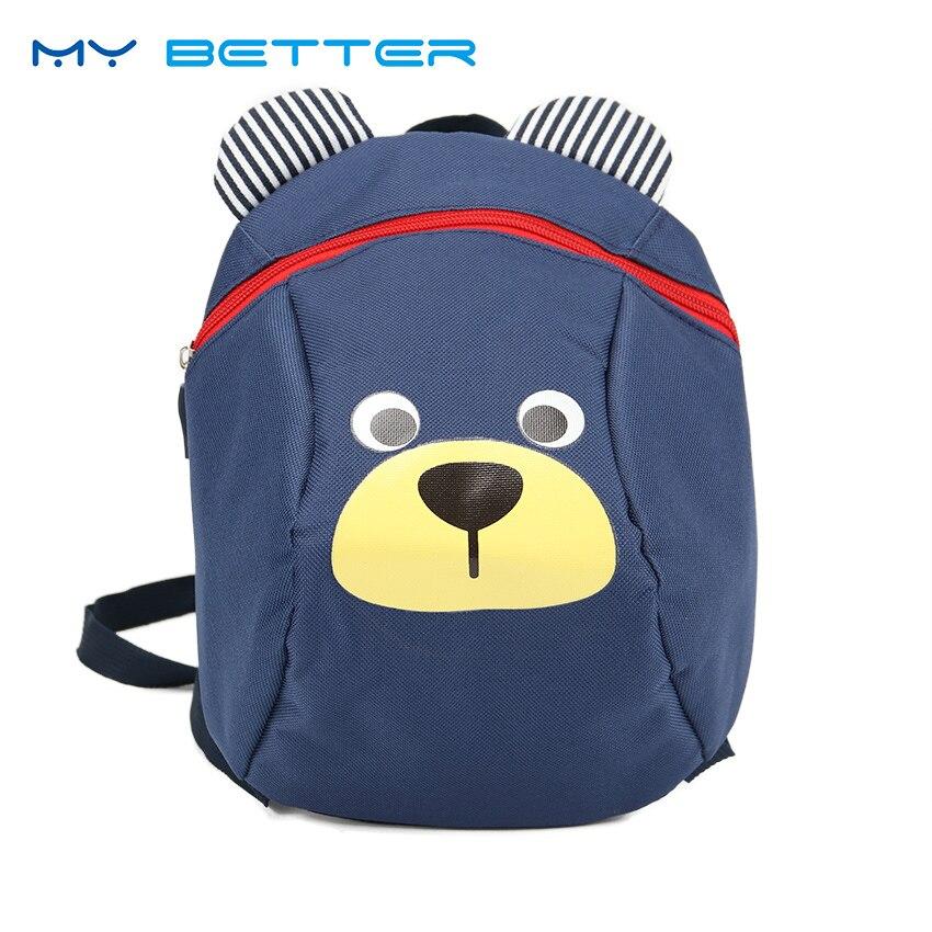 Cute Kid Anti Lost School Bags Backpack Kindergarten Schoolbag Cute Cartoon Animal Bag