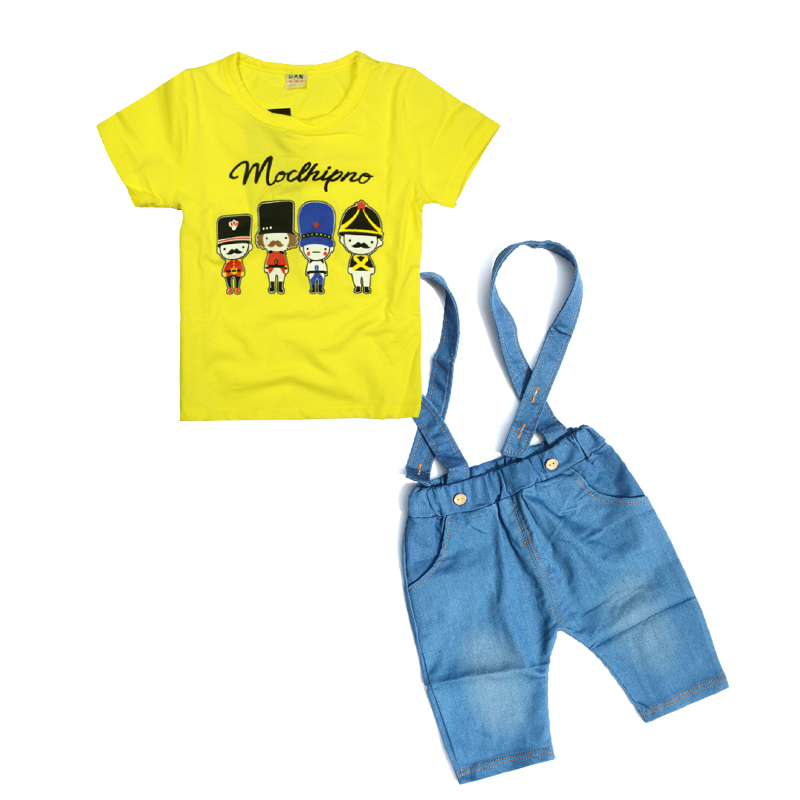 1 6 years Baby Boy Clothes Kids Summer Fashion Toddler