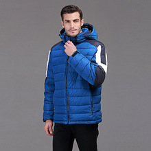 winter duck down jacket men Europe and USA branding clothing Minus 40 degrees warm coat young men blue and red winter coat Q129
