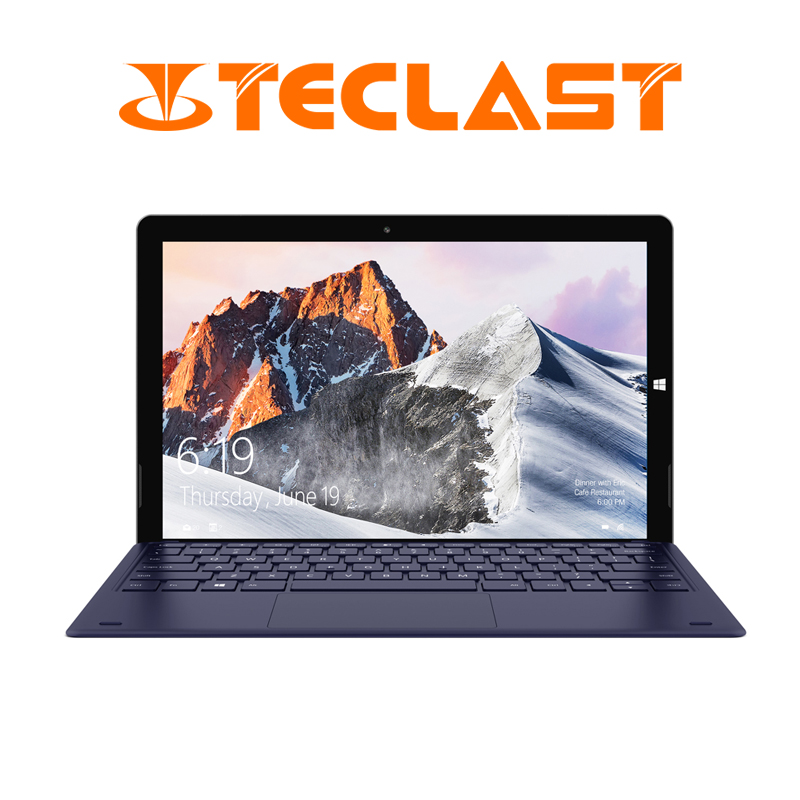 12.6 Inch 1920*2880 Teclast X6 Pro 2 in 1 Tablet PC Intel M3-7Y30 8GB RAM 256GB SSD Windows 10 Touch Screen Laptop Dual Wifi