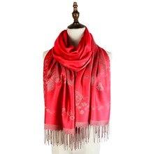 spring mujer jacquard scarf rayon wraps shawls scarves femme pashmina fashion floral scarfs soft hijabs vimpa