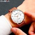 Новые роскошные для женщин из металлической сетки часы простота Классические наручные Модные повседневное кварцевые высокое Кач - фото