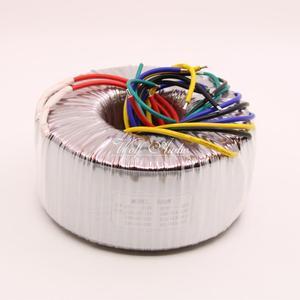 Image 2 - 500วัตต์หม้อแปลงToroidal AC220Vเอาท์พุท:คู่33โวลต์* 2คู่+ 15โวลต์ลวดทองแดงบริสุทธิ์สูงแหล่งจ่ายไฟเพาเวอร์