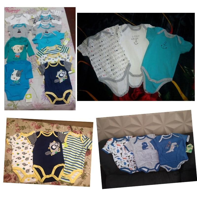 HTB1Up .X.rrK1RkSne1q6ArVVXaw 2019 3PCS/Lot Unicorn Baby Boy Clothes Newborn Baby Girl Clothes 100%Cotton 0-12M Bodysuits Girls Clothing Roupas de bebe