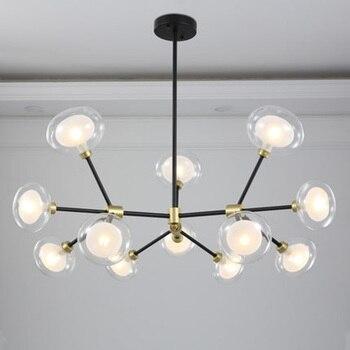 Style nordique lustres décoratifs minimaliste encastré lumières Art déco salon salle à manger chambre luminaire