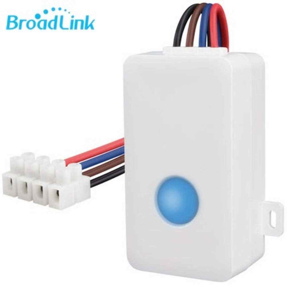 2020 Broadlink SC1 Smarthome Wifi Nirkabel Remote Control Power Switch Smart Home Automation Modul Controller Melalui Ponsel