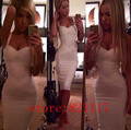 11 Colors Top Quality HL Sleeveless Knee Length Sling Bandage Dress Celebrity Bodycon Fashion Dresses