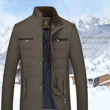 XingDeng 2018 new cotton Men's Winter Jacket fashion Jackets