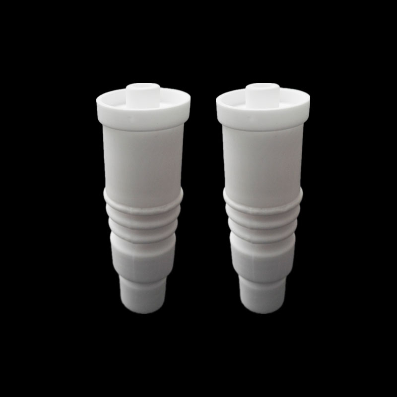 14mm 18mm domeless ceramic nail and Carb Cap vs titanium nails Titanium Carb Cap in Tobacco Pipes Accessories from Home Garden